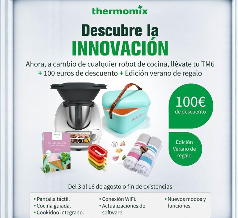 Thermomix® TM6 PER 1299? DESCOBREIX LA INNOVACIÓ