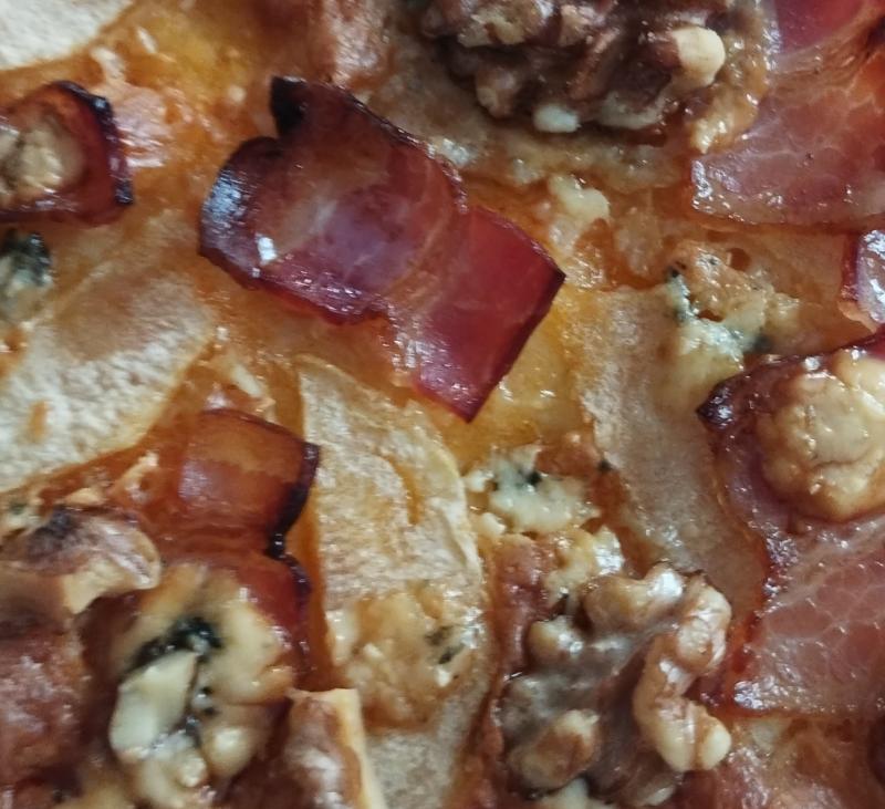 Pizza sin gluten diferente
