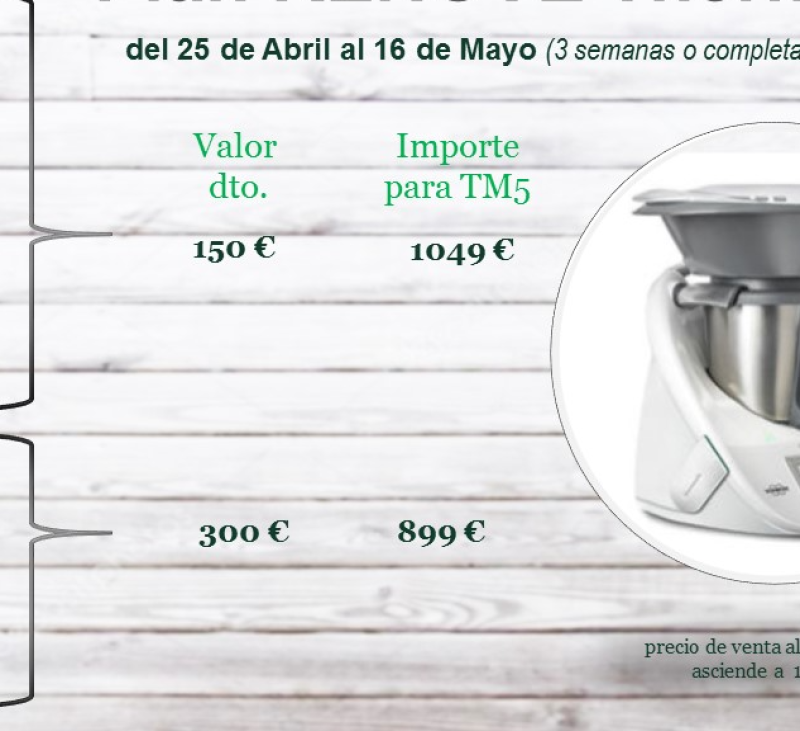 NOTICIÓN.... PLAN RENOVE Thermomix® 2018