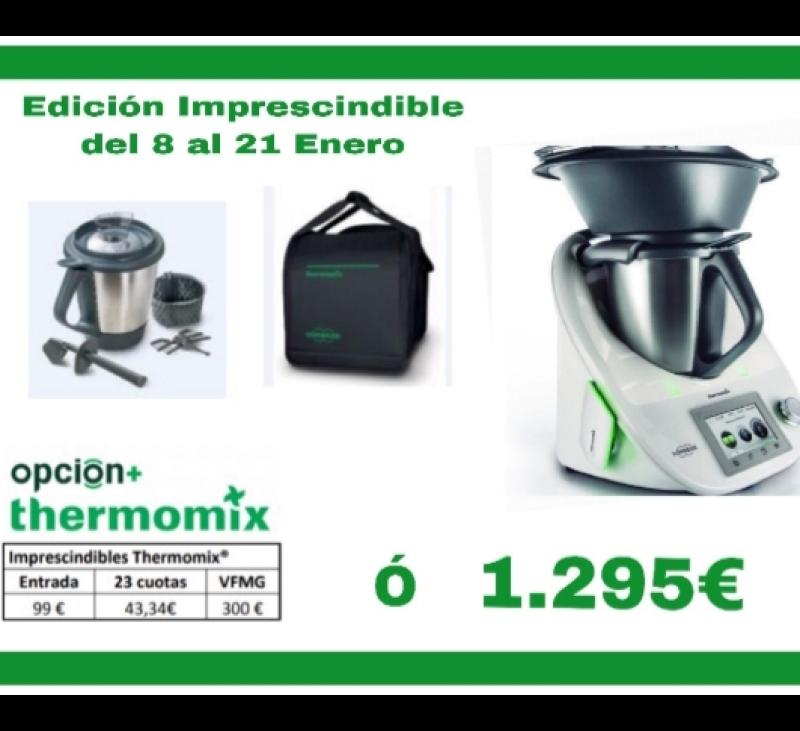 OPORTUNIDAD: NUEVA EDICIÓN Thermomix® CON 2° VASO Y BOLSA