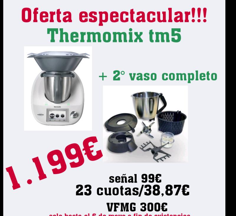 Oferta tm5 con 2° vaso