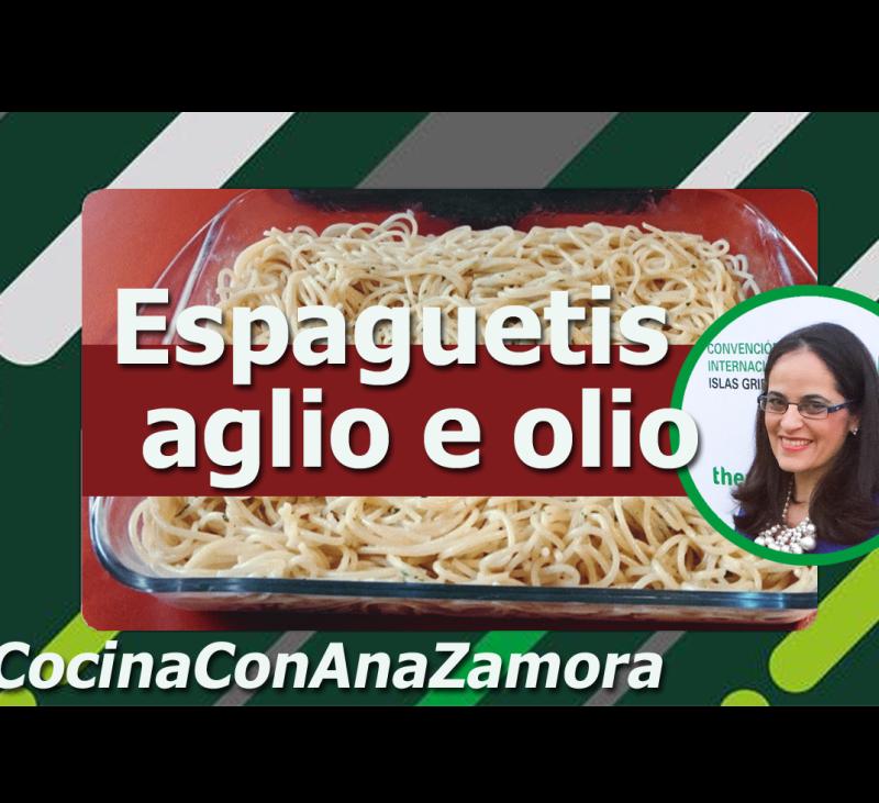 """Espaguetis """"aglio e olio"""" con Thermomix®"""