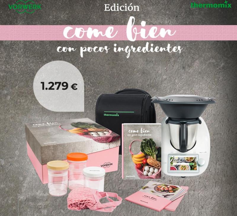 Edición come bien con pocos ingredientes por 29,84€ al mes.