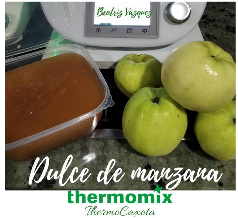 DULCE DE MANZANA CON Thermomix®