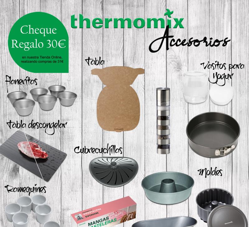 CHEQUES REGALO DE 30 € Thermomix® en nuestra Tienda Online - Vales descuento