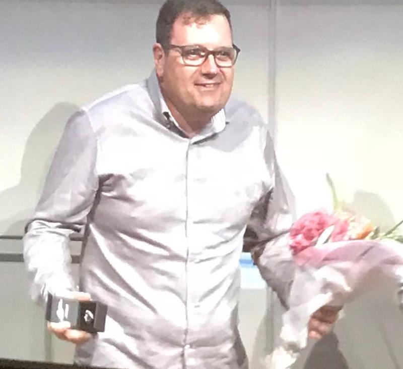 Convención Anual 2018 Thermomix® - Jordi Carmona, mejor nuevo agente comercial zona ESTE