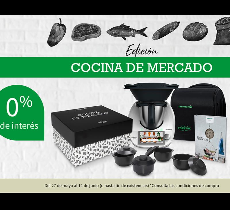 Nueva edición.. COCINA DE MERCADO y con financiación Sin Intereses!!