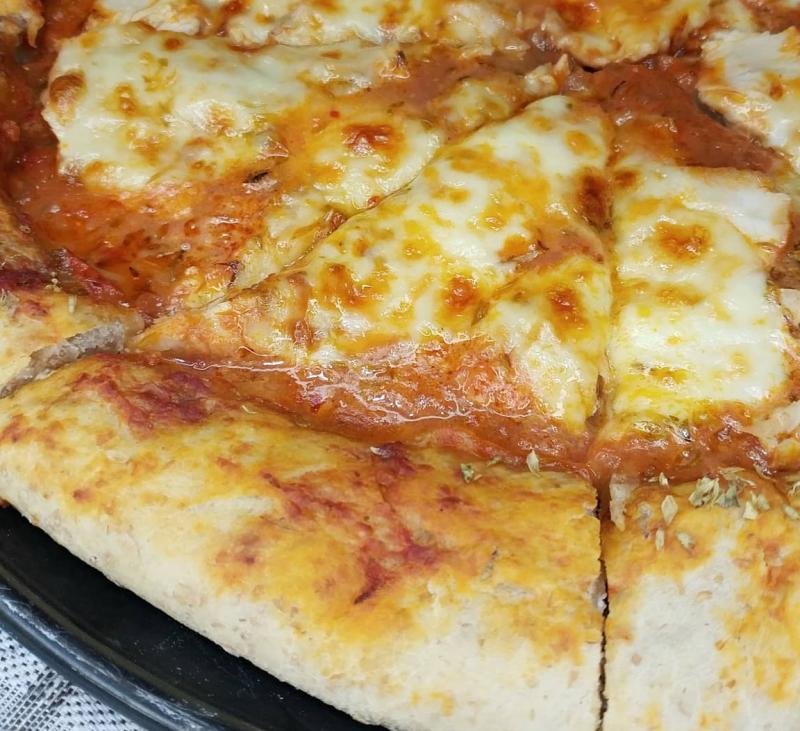 Una pizza digestiva con masa madre