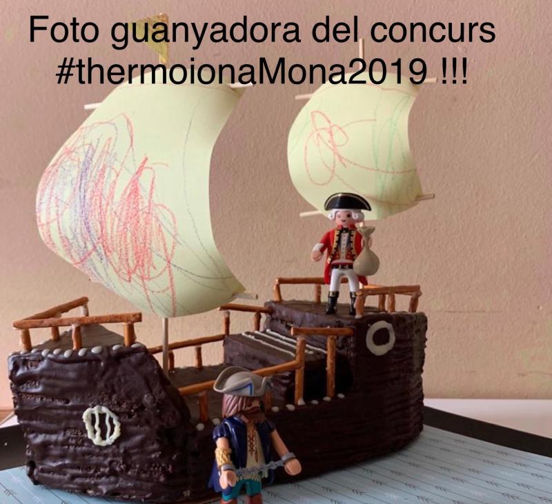 Guanyadora de la Mona 2019