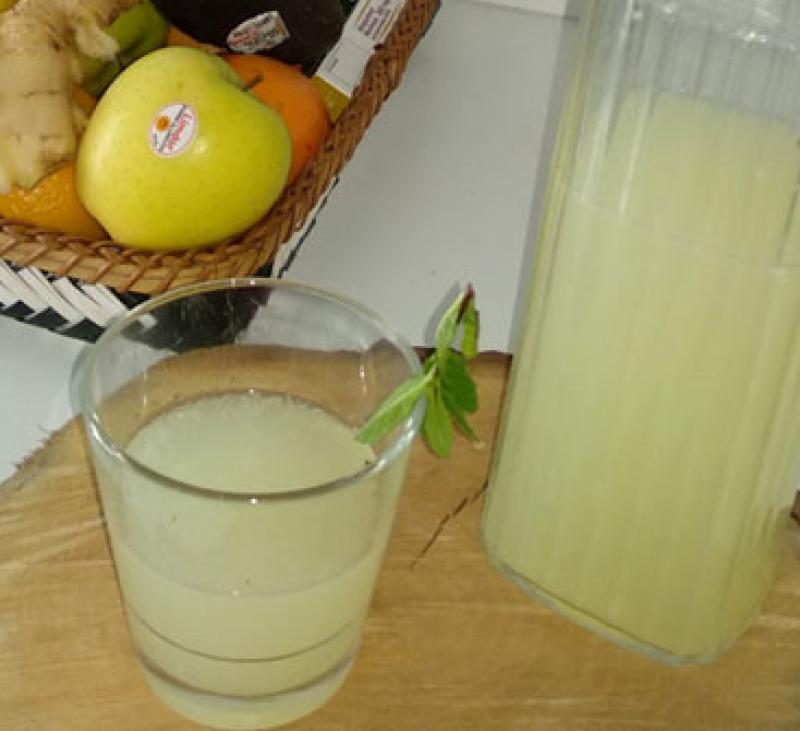 Limonada con jengibre y miel, refuerza tus defensas