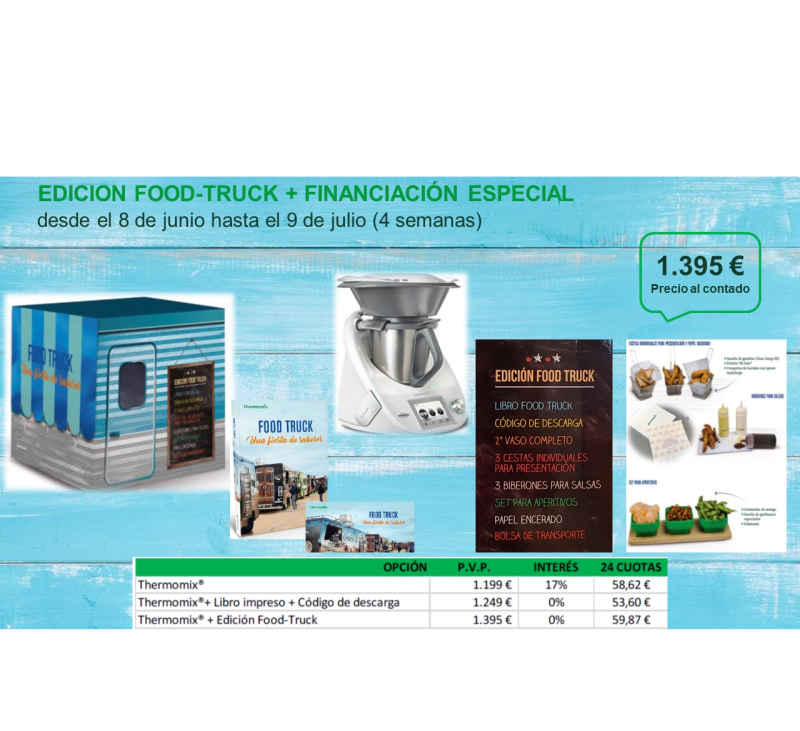 FOOD TRUCK FINANCIACIÓN 0%