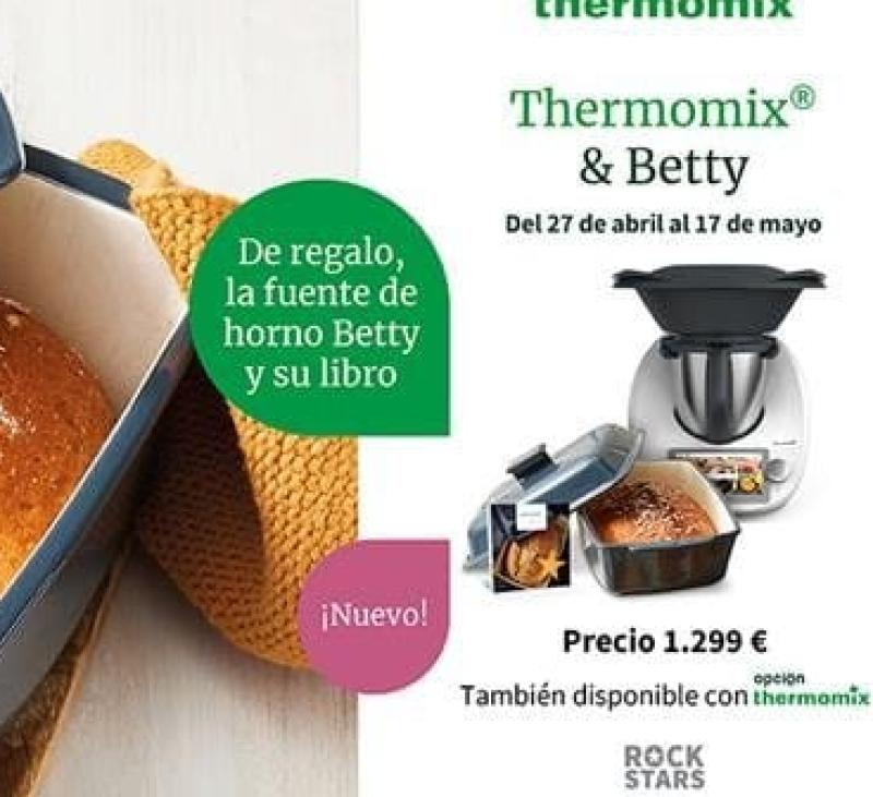 Thermomix® + fuente Betty