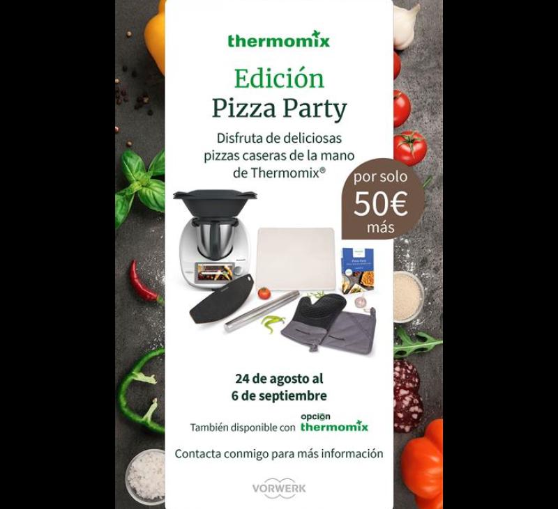 PARTY PIZZA COMPARTIR MOMENTOS