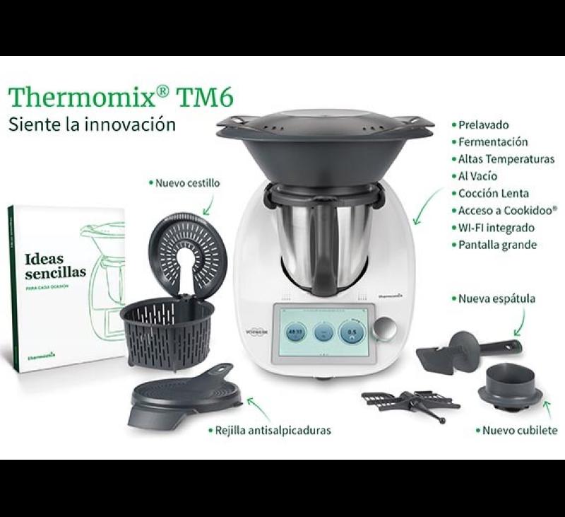 Nuevo Thermomix® 6. Reservalo, ya!!!