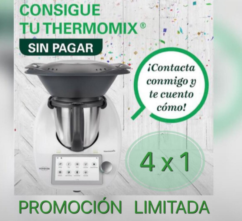 Thermomix® Tm6 GRATIS!!