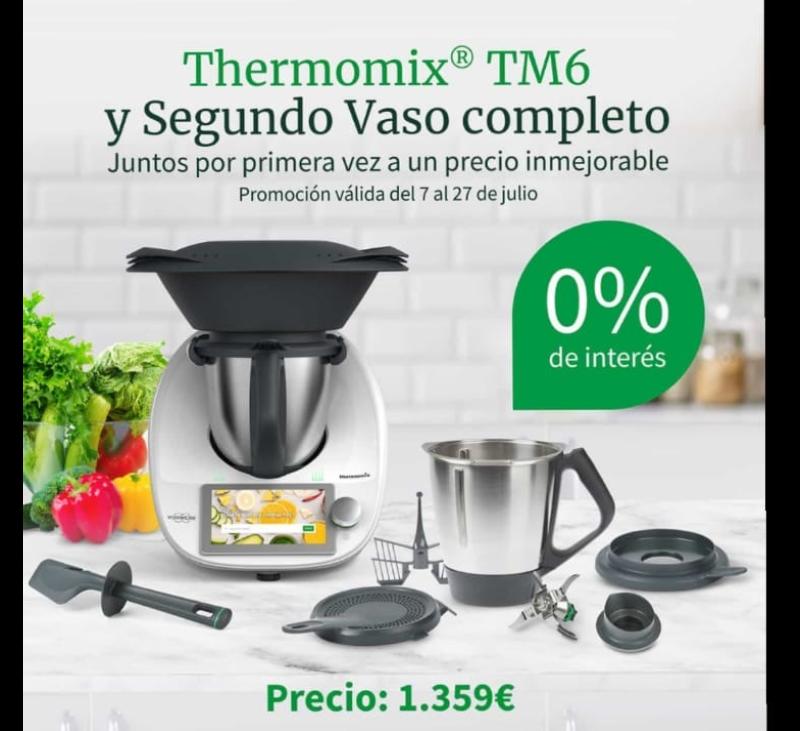 Thermomix® TM6 + Segundo vaso Completo en Badajoz y Merida