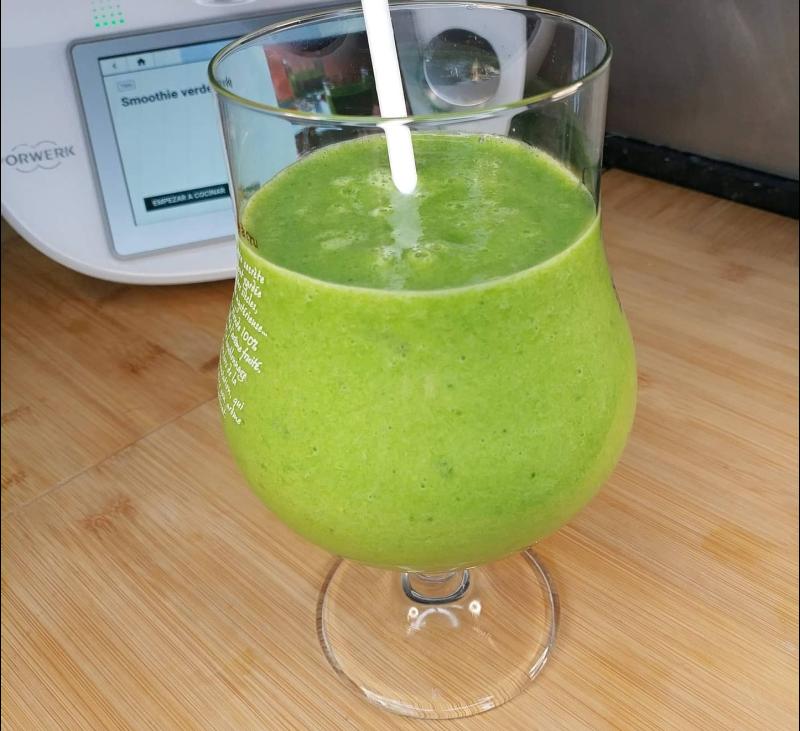 Batido verde para un desayuno especial