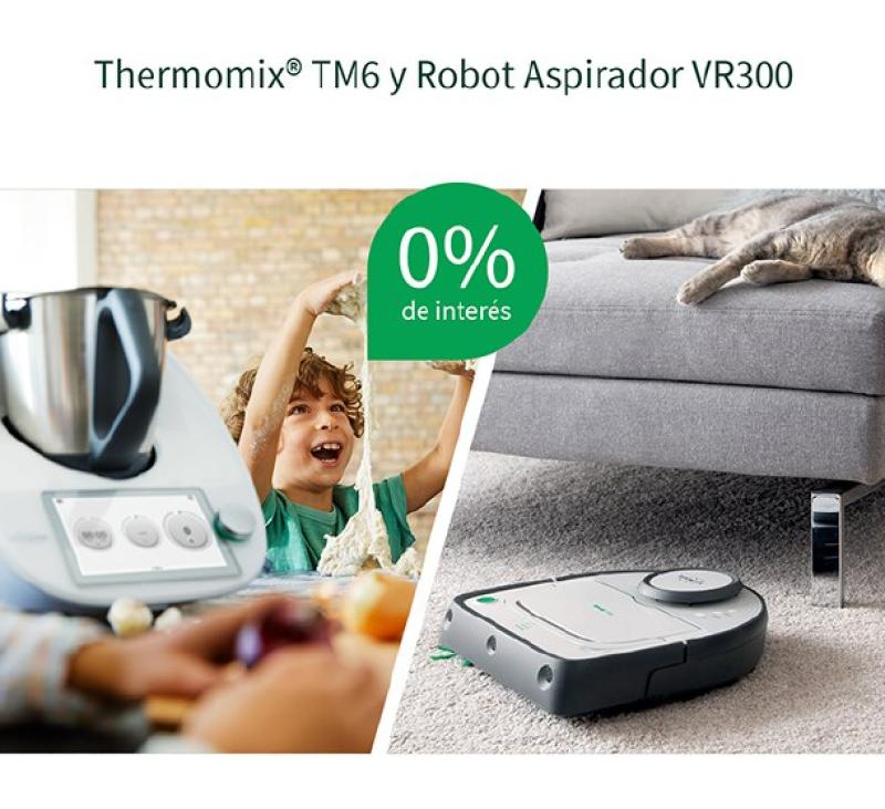 2 × 1 !!DISFRUTA DE LOS TUYOS MIENTRAS VORWERK COCINA POR TI CON Thermomix® Y LIMPIA POR TI CON KOBOLD!!