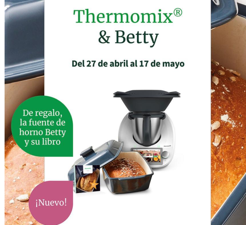 Thermomix® TM6 & BETTY. PARA MAMA.