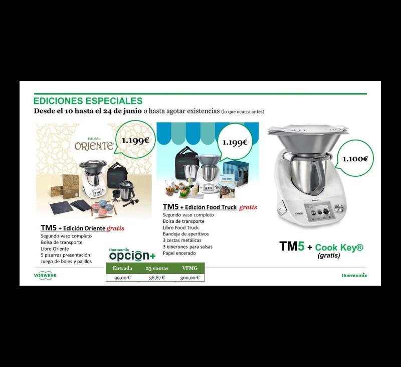 Promoción increíble de Thermomix® TM5