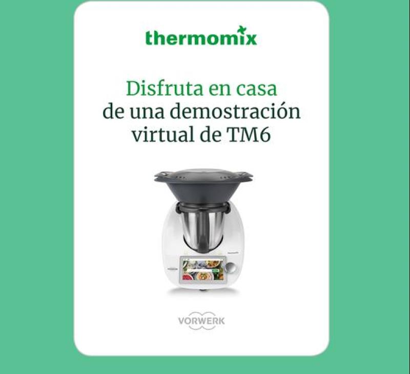 DISFRUTA EN CASA DE UNA DEMOSTRACIÓN VIRTUAL CON Thermomix® DESDE MAJADAHONDA