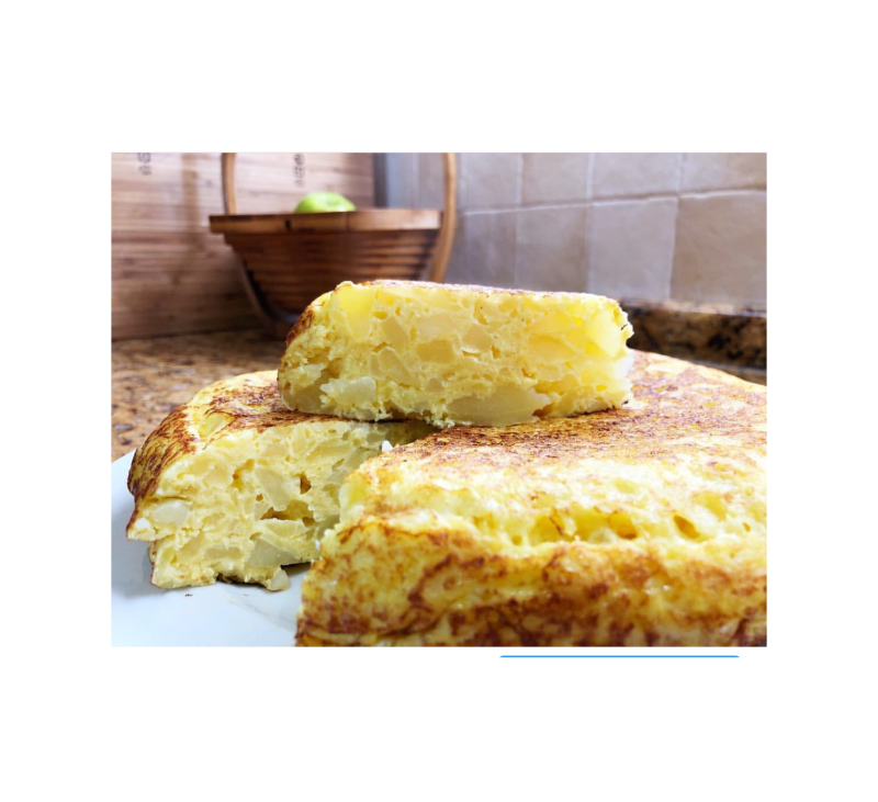TORTILLA DE PATATA SALUDABLE