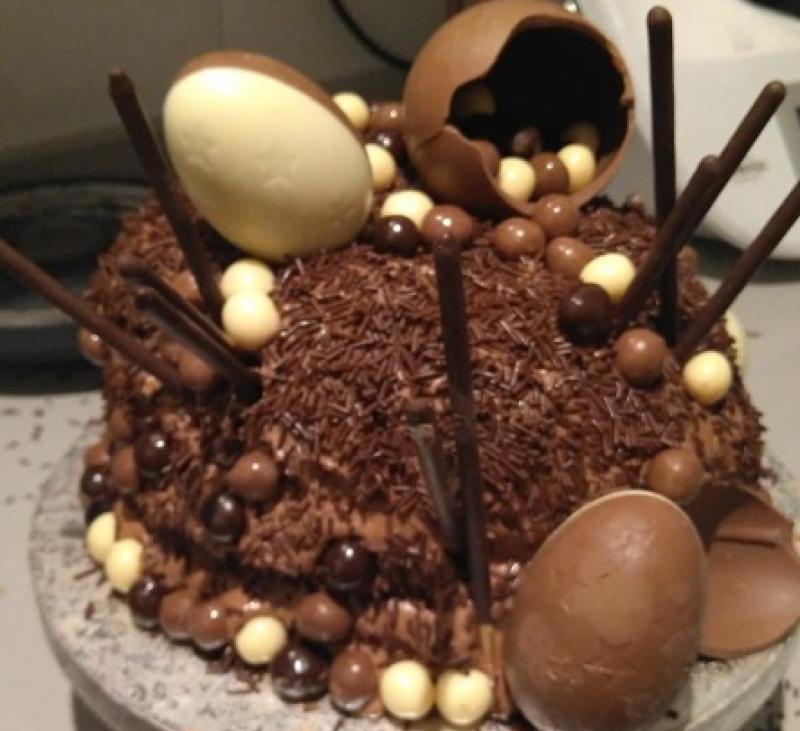 Fantástica Tarta de Chocolate para cumpleaños