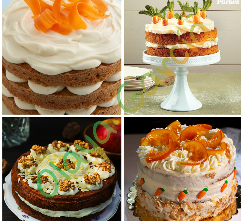 Tarta vegana de zanahoria