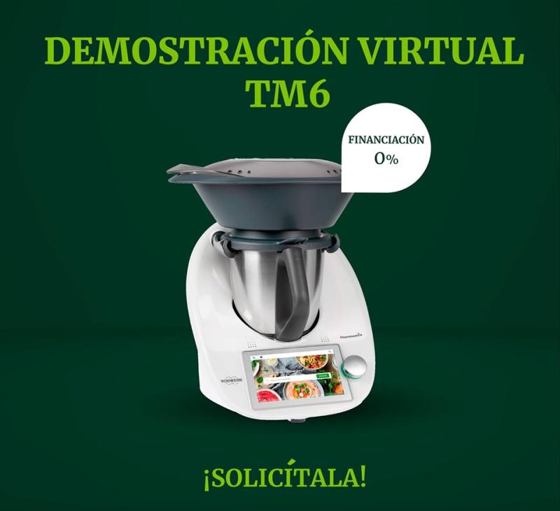 Demostración Virtual Thermomix® TM6