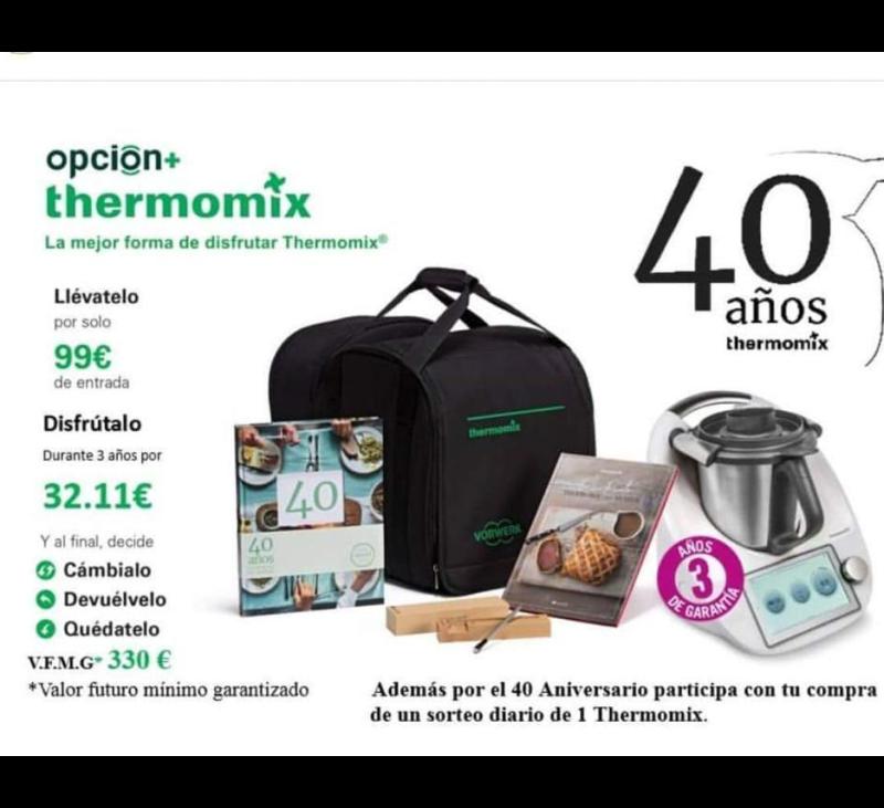 40 ANIVERSARIO CON Thermomix®