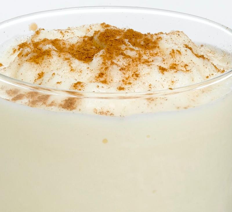 Helado rápido de leche merengada