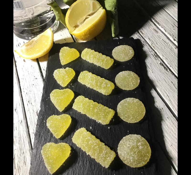 Gominolas de Gin Tónic con Thermomix®