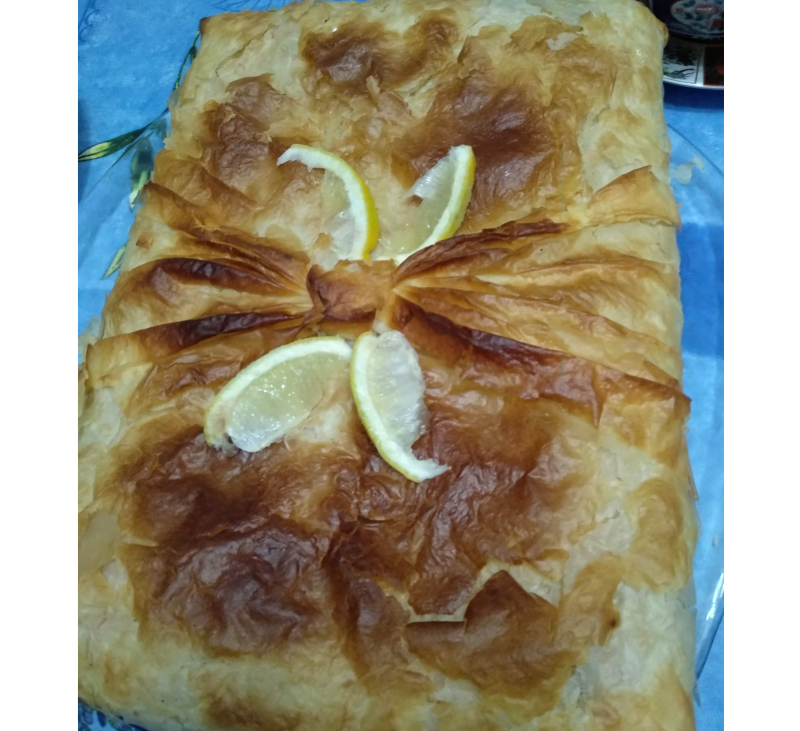 Pastela de pescado y marisco