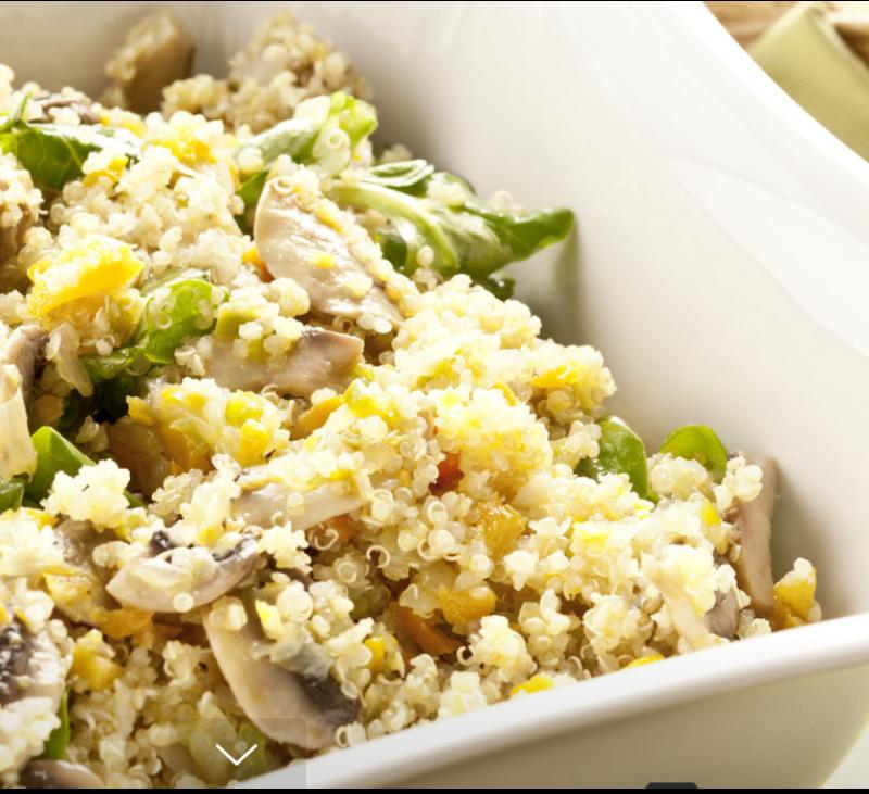 Receta: Quinoa con verduras con Thermomix®