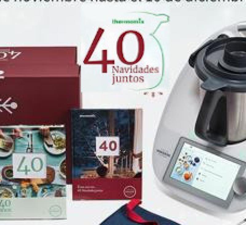 Edición limitada 40 NAVIDADES JUNTOS con Thermomix® .