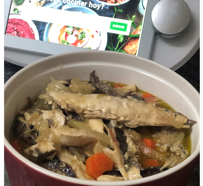 Caballas en escabeche con Thermomix® TM 6