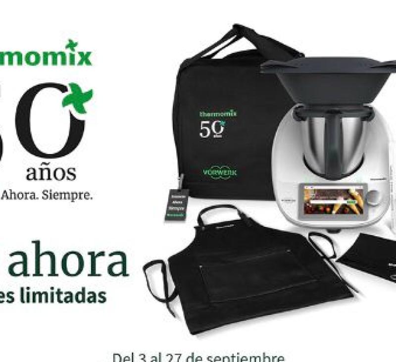 Edición Limitada 50 Aniversario Thermomix® gratis