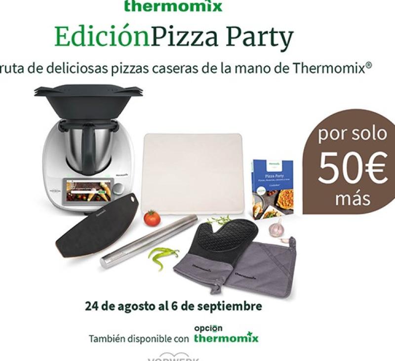Nueva edición Thermomix® : PIZZA PARTY Méndez Álvaro