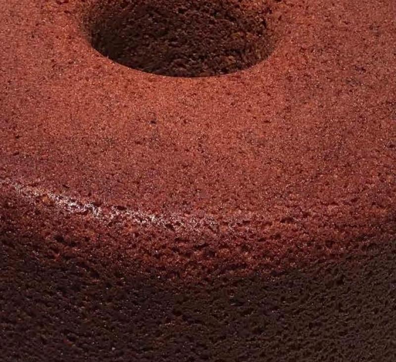 Bizcocho de chocolate con un toque especial