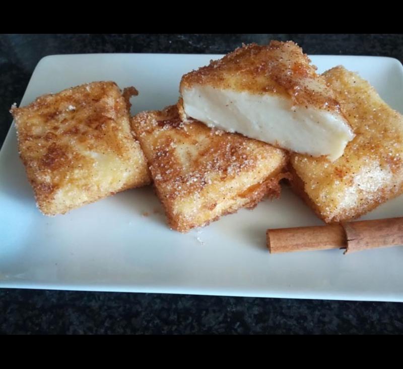 FÁCIL Y DELICIOSO : ¿Os gusta la leche frita? ¡A nosotros nos encanta!.