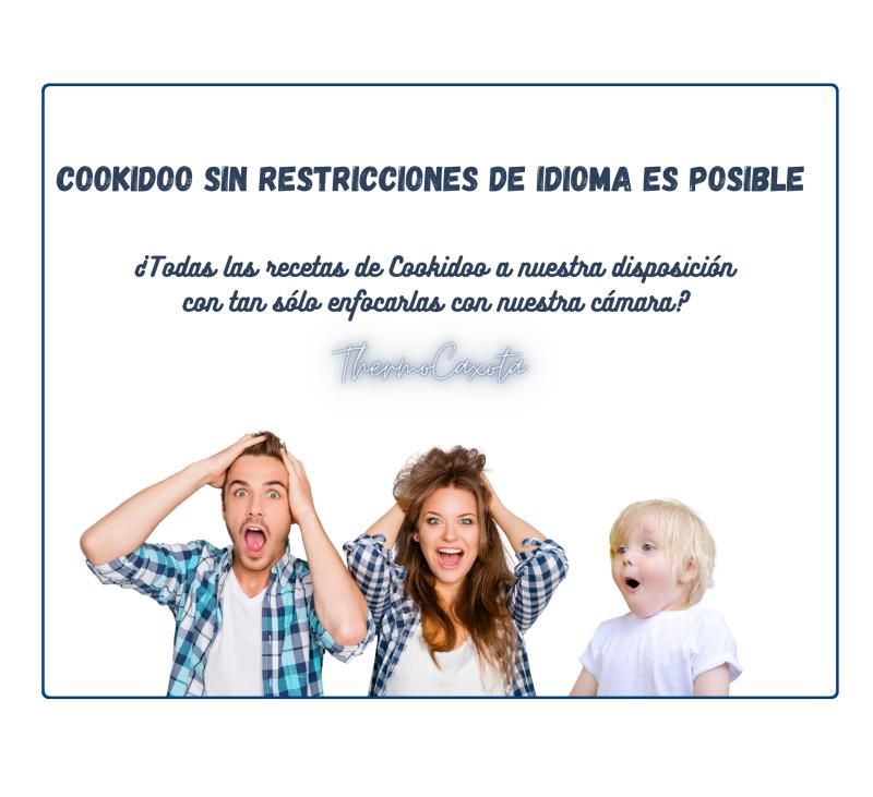 COOKIDOO SIN RESTRICCIONES DE IDIOMA ES POSIBLE
