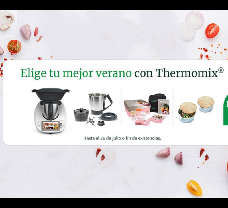 Compra Thermomix® y un segundo vaso por solo 1 € más
