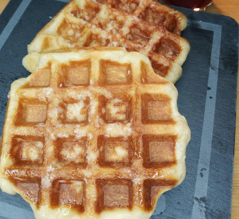 Un gofre para desayunar con Thermomix®
