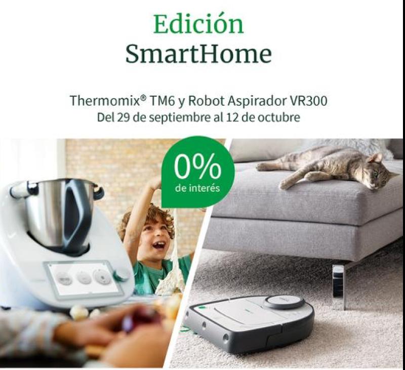 Thermomix® EDICIÓN SMARTHOME: TM6 + KOBOLD VR300