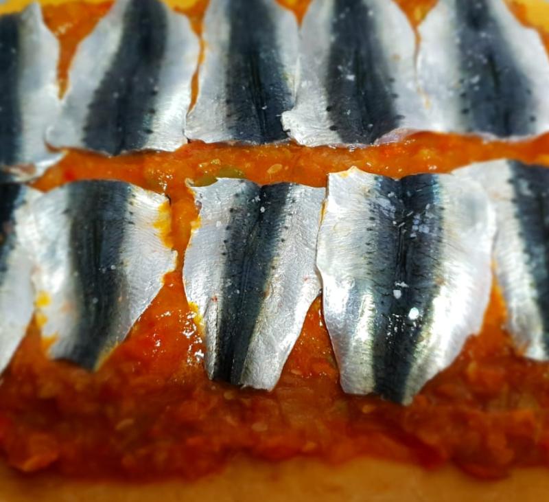 Empanada de sardinas