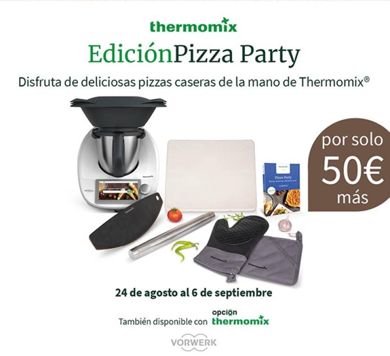 Thermomix® TM6 Edició PIZZA PARTY