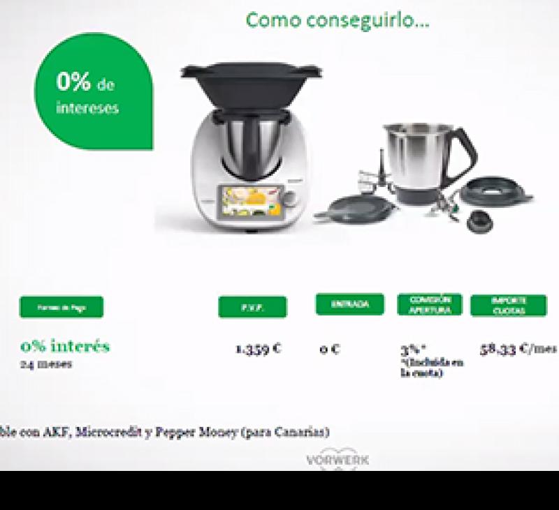 Thermomix® 0% INTERESES Y DOBLE VASO