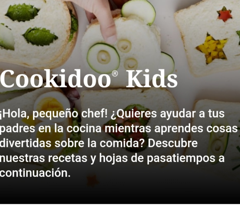 ''cookidoo Kids'' Thermomix® para los mas peques