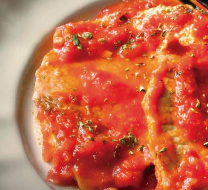 Escalopines con sabor italiano en 15mn
