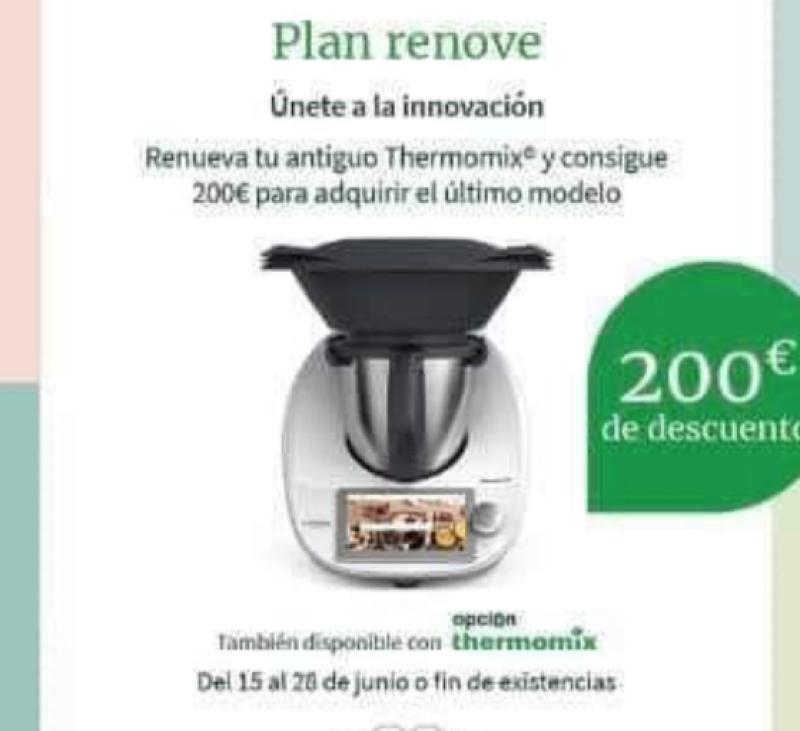 Plan Renove Thermomix® y ahorra 200€